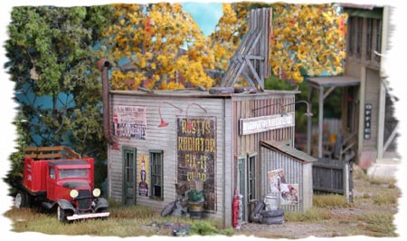 Rusty Radiator Company (HO Scale)