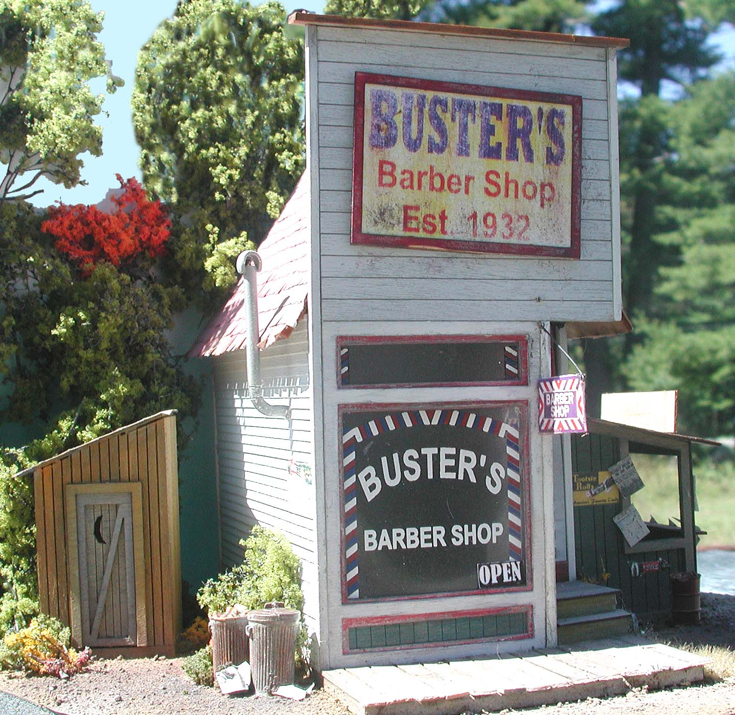 Busters Barber Shop (O)