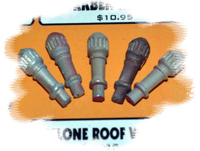 Cyclone Roof Vents (O-Scale)