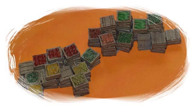 Fruit & Produce Crates (S-O)