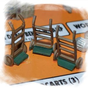 Handcarts (O-Scale)