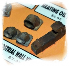 Industrial Wall Vents (O-Scale) 04007