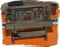 Bench With Vise (O-Scale)