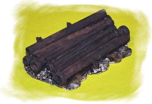 Rusted Sewer Pipes (HO)
