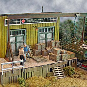 The Cranberry Yard Freight House HO Scale