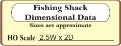 Fishing Shack (HO)