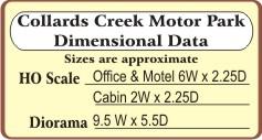 Collard's Creek Motor Park(HO)