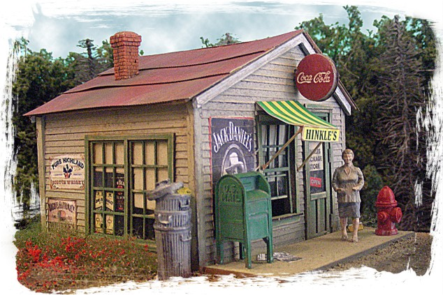 Hinkle's Package Store (S-O Scale)