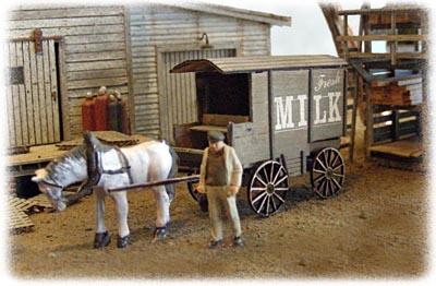 Milk & Ice Wagons