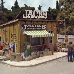 Jack's Back Yard