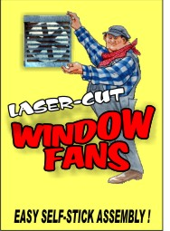 O SCALE WINDOW FANS