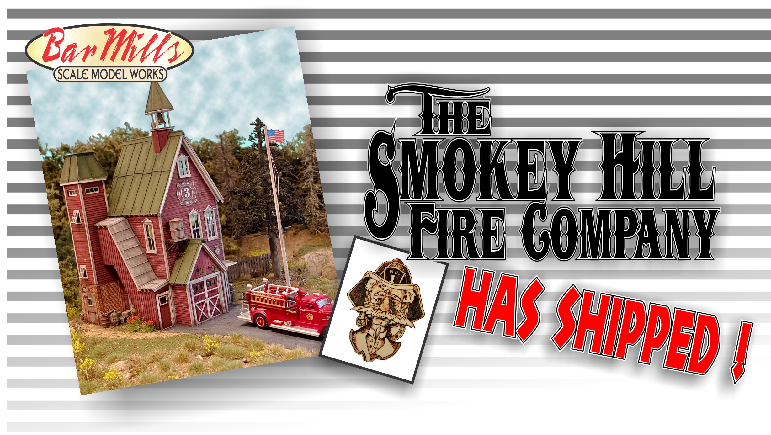 Smokey Hill Has Shipped in HO Scale !